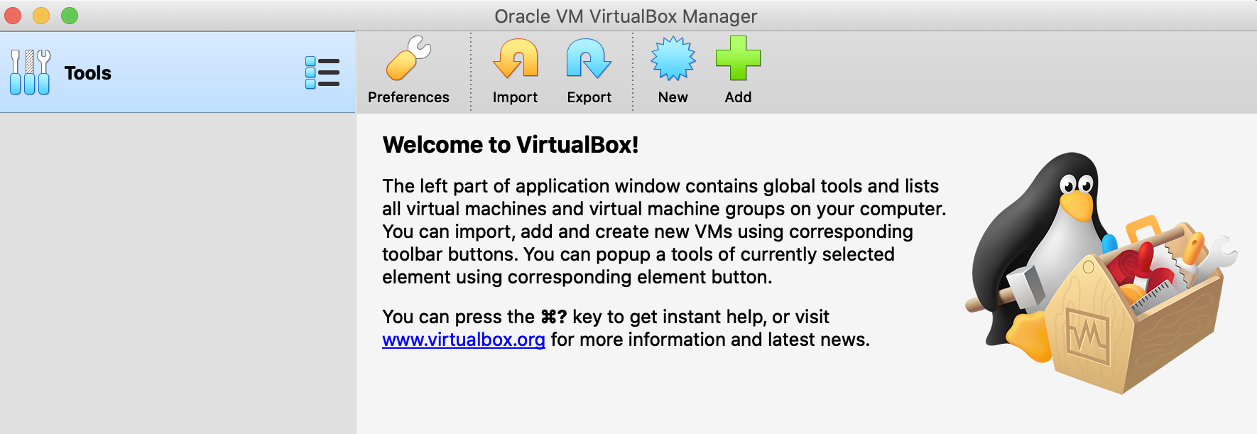 Welcome-to-VirtualBox